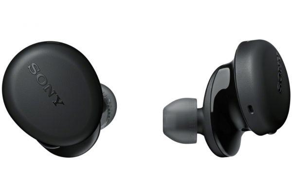 Large image of Sony EXTRA BASS Black True Wireless Headphones - WFXB700/B