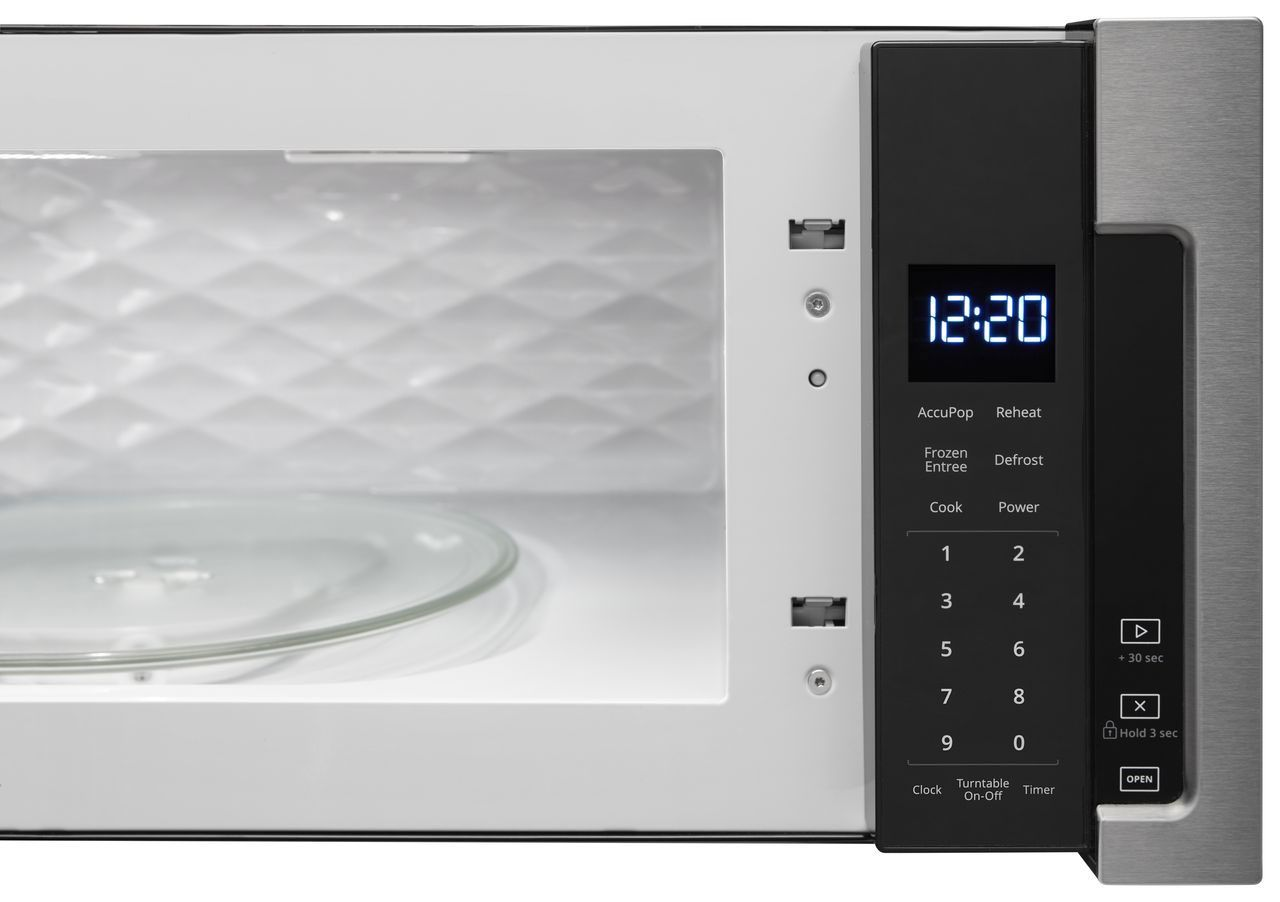 Whirlpool Low Profile Microwave Hood Combination Wml55011hs