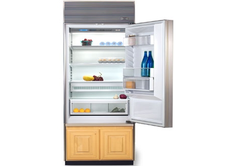 Sub Zero 600 Series 36 Built In Bottom Mount Freezer Refrigerator