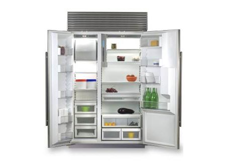 Sub Zero 600 Series 48 Built In Side By Refrigerator 695f