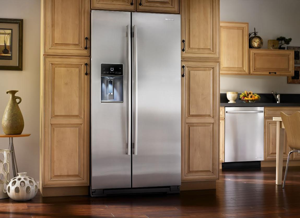 What Is The Depth Of A Counter Depth Refrigerator Jenn Air Stainless Counter Refrigerator Jsc23c9eem