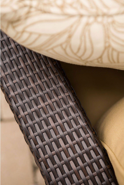 6 Pc Patio Set With Umbrella: Hanover Metropolitan 5pc Outdoor Seating Set