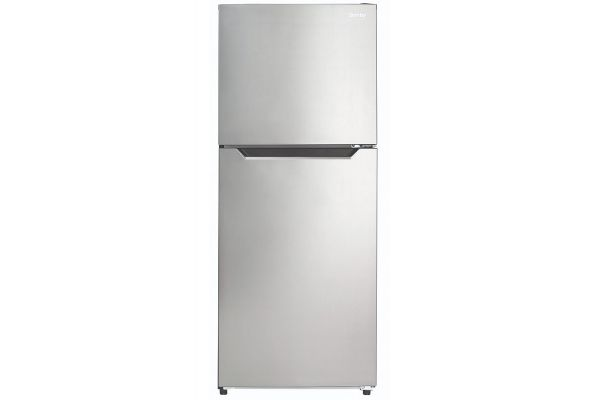 Large image of Danby 10.1 Cu. Ft. Stainless Steel Apartment Size Refrigerator - DFF101B1BSLDB