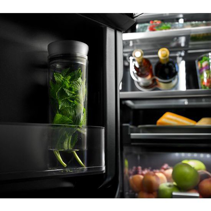 "Top Rated Counter Depth Refrigerator >> Jenn-Air 72"" French Door Refrigerator - JFFCC72EFS"