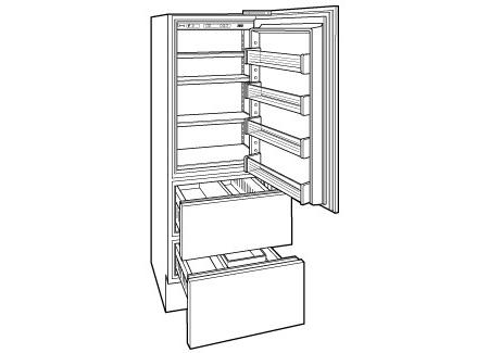 Sub Zero 700 Series 27 Quot Integrated Upright All Freezer