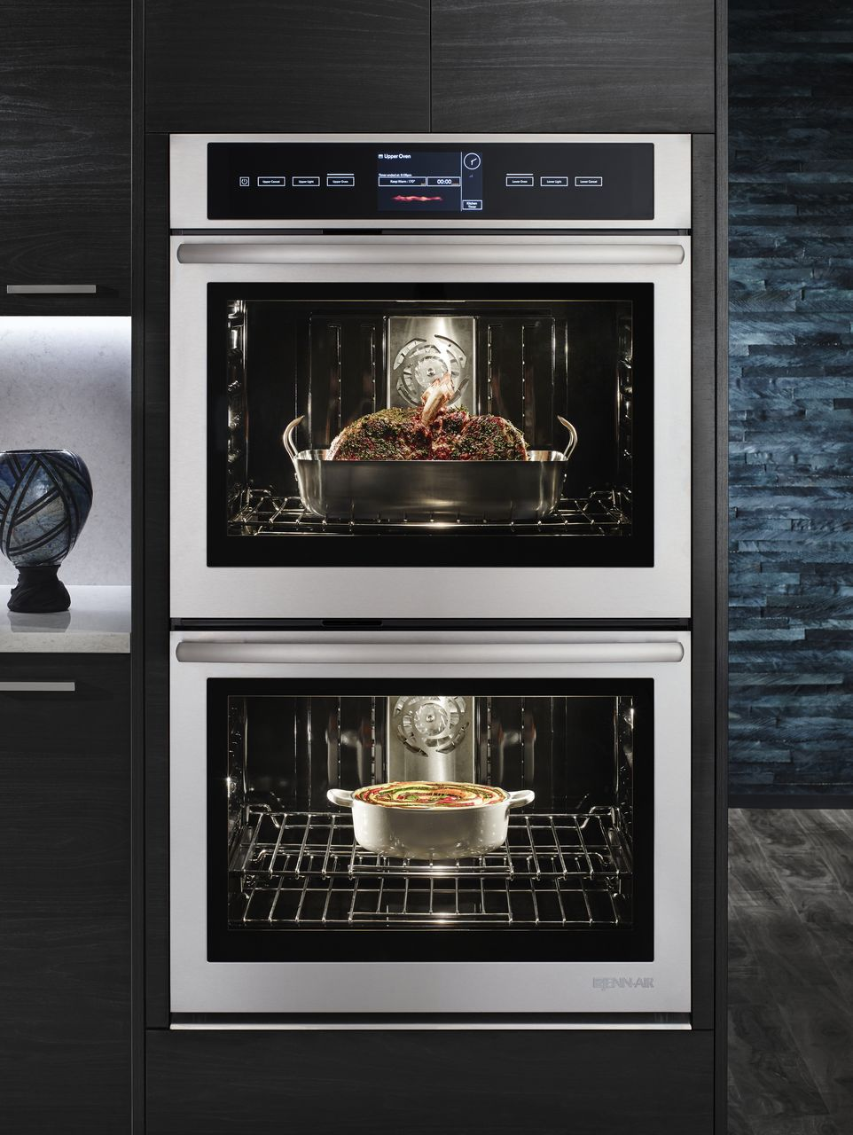 Jenn Air 30 Quot Stainless Double Wall Oven Jjw3830ds