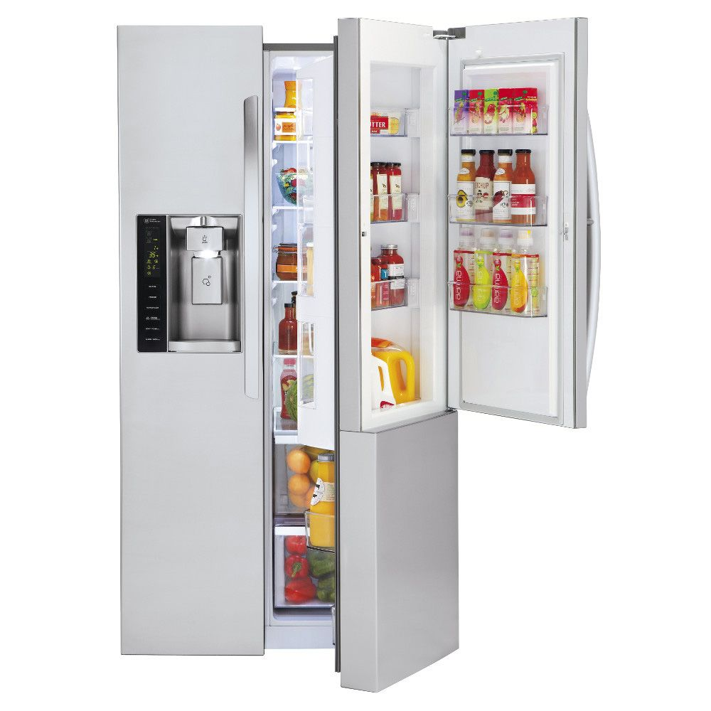 LG Stainless Steel Side By Side Refrigerator