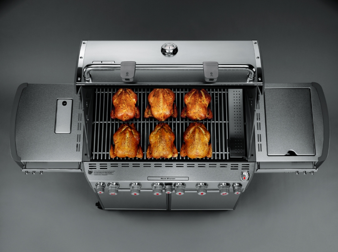 Weber summit s stainless steel lp gas grill