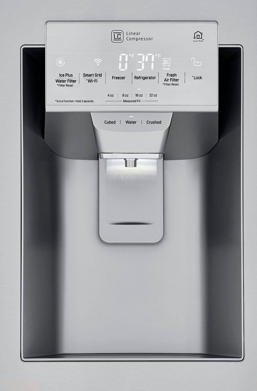 LG PrintProof Stainless Steel Counter Depth French Door Refrigerator