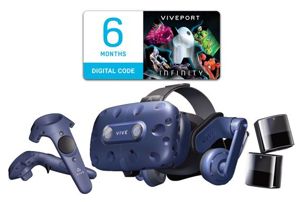 HTC Vive Pro Virtual Reality System - 99HANW00100