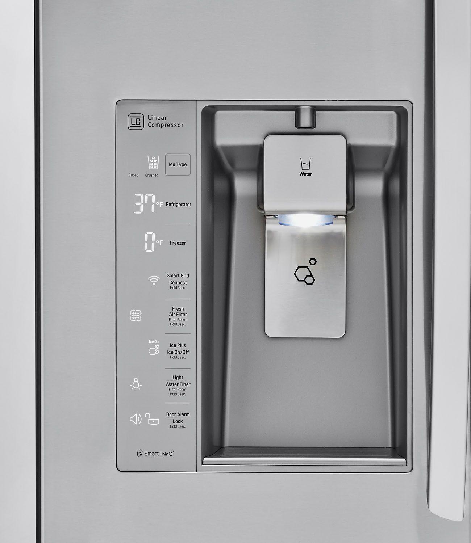 Lg French Refrigerator Bluetooth Speaker Lfxs30786s