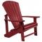 C.R. Plastic Products Burgundy Adirondack Chair - C01-05