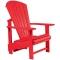 C.R. Plastic Products C03 Red Upright Adirondack - C03-01