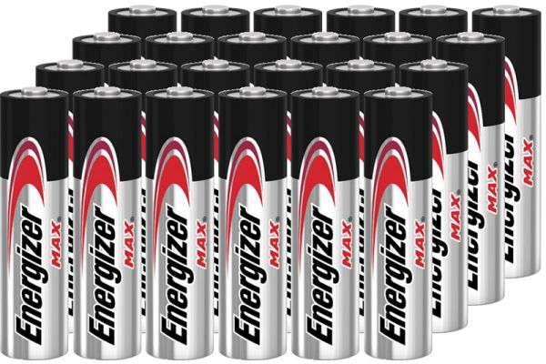 Large image of Energizer MAX AA Alkaline Battery (24 Pack) - AA24PACK-E
