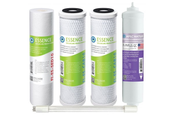 Large image of APEC Water Pre-Filter Set For ESSENCE ROES-PHUV75 Reverse Osmosis Systems (Stages 1-3, 5 And 7) - FILTER-SET-ESPHUV-SSV2