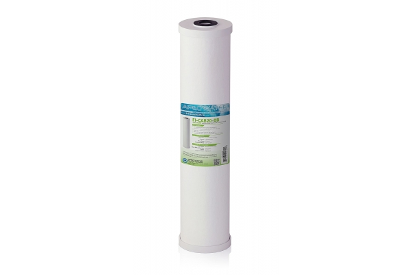 "Large image of APEC Water 4.5"" x 20"" Whole House High Flow Radial-Flow GAC Carbon Filter - FI-CAB20-BB"
