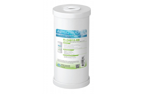 """Large image of APEC Water 4.5""""x 10"""" Whole House High Flow Radial-Flow GAC Carbon Filter - FI-CAB10-BB"""