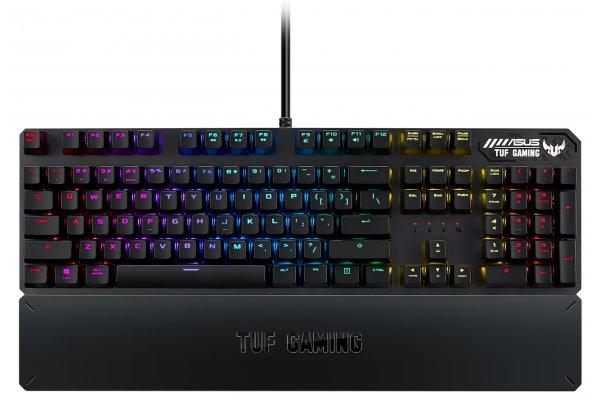 Large image of ASUS TUF Gaming K3 RGB Mechanical Keyboard - TUFGAMINGK3RDUS