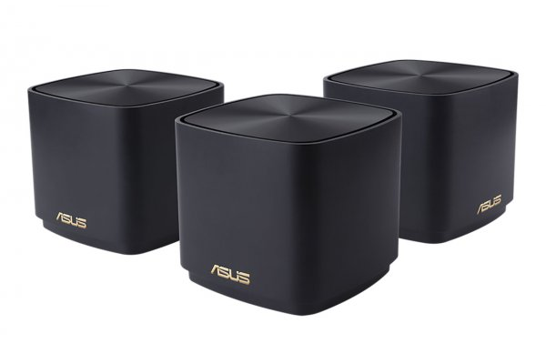 Large image of ASUS ZenWifi AX Mini Dual Band Mesh WiFi 6 System (3-Pack) - 90IG05N0-MA1R1T