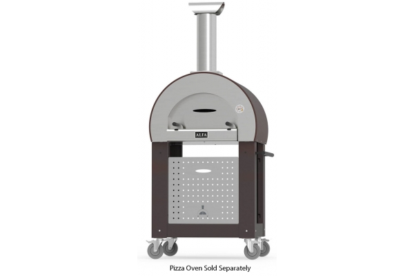 Large image of Alfa 5 Minuti Copper Pizza Oven Base - BF5MINUTIRAM