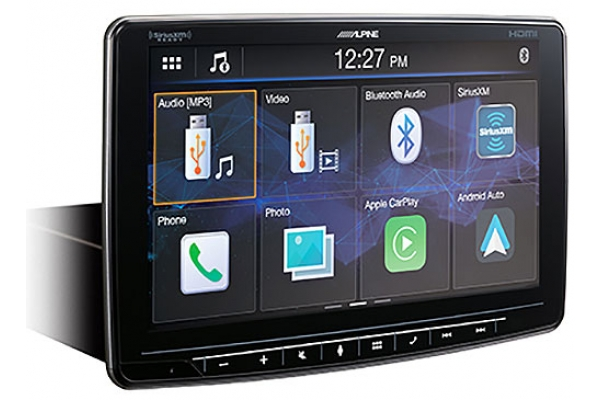 Large image of Alpine Halo9 Multimedia Receiver With 9-Inch Customizable Touchscreen Display - ILX-F409