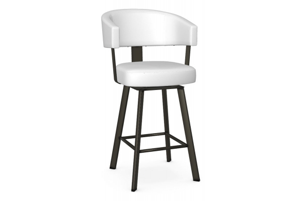 Large image of Amisco Grissom Harley/Blizzard Swivel Counter Stool - 41560-26-51/DH