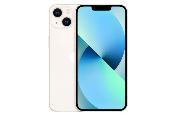 Large image of Apple 512GB Starlight iPhone 13 Cellular Phone - ML9U3LL/A & 6173D
