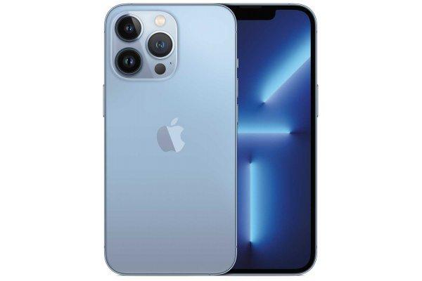 Large image of Apple 128GB Sierra Blue iPhone 13 Pro Cellular Phone - MLQL3LL/A & 6180D