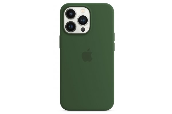 Large image of Apple iPhone 13 Pro Clover Silicone Case With MagSafe - MM2F3ZM/A