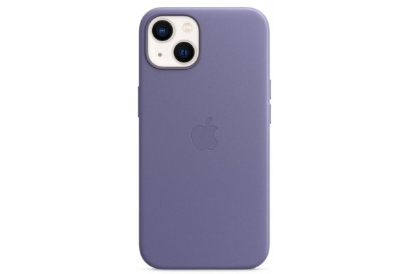Large image of Apple iPhone 13 Wisteria Leather Case With MagSafe - MM163ZM/A