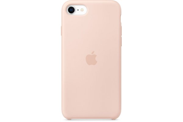 Large image of Apple iPhone SE Pink Sand Silicone Case - MXYK2ZM/A