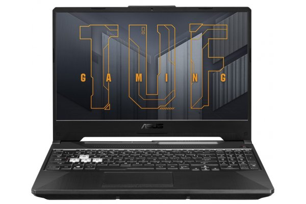 Large image of Asus TUF Gaming TUF506 15.6 Eclipse Gray Gaming Notebook Intel i7-11800H 16GB RAM 512GB SSD NVIDIA GeForce RTX 3050 Ti - TUF506HEBDB74