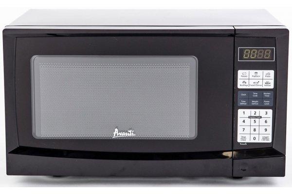 Large image of Avanti 0.9 Cu. Ft. Black Countertop Microwave - MT9K1B
