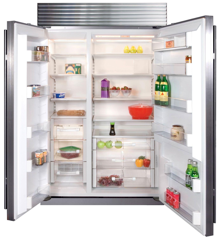 Refrigerator Sub Zero Bi 48s S Th Interior View
