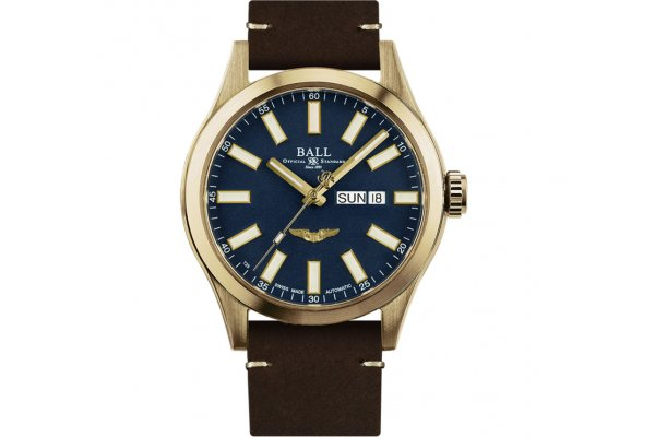 Large image of Ball Engineer III Marvelight Star Automatic Bronze Watch - NM2186CL4JBE