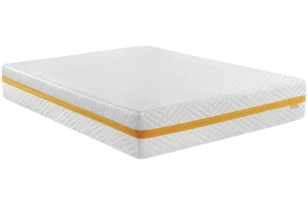 "Large image of Beautyrest 12"" Plush Memory Foam Queen Mattress - 700811001-8050"