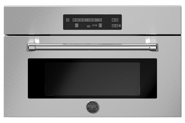 """Large image of Bertazzoni 30"""" Master Series Stainless Steel Convection Steam Oven - MAST30CSEX"""
