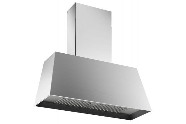 "Large image of Bertazzoni Master Series 30"" Stainless Steel Contemporary Canopy Hood - KMC30X"