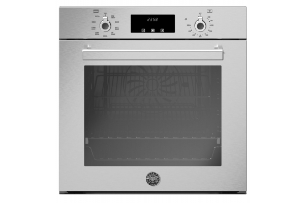 """Large image of Bertazzoni Professional Series 24"""" Electric Convection Single Wall Oven - PROF24FSEXV"""