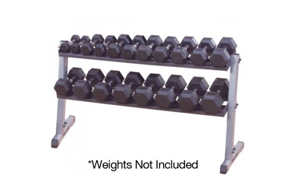 Large image of Body-Solid Pro Dumbbell Rack Only - GDR60