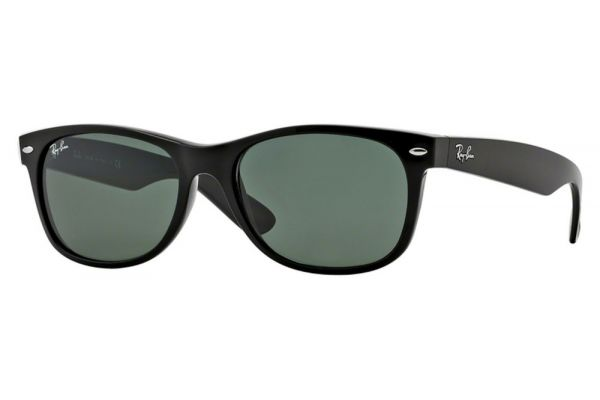 Ray-Ban Wayfarer Black Unisex Sunglasses - RB2132 901