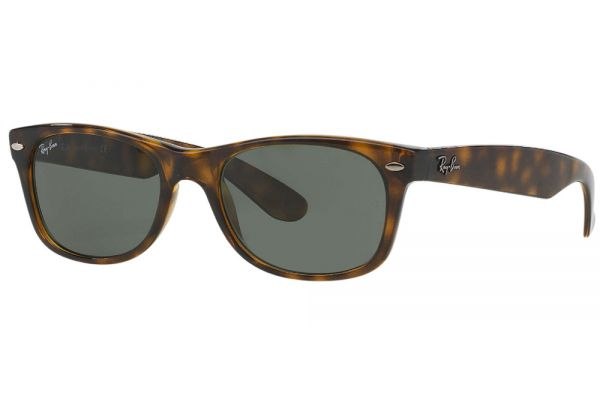 Large image of Ray-Ban New Wayfarer Classic Tortoise Unisex Sunglasses - RB2132 902 52-18