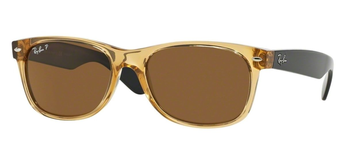0a8ee67f3 Ray-Ban RB2132 New Wayfarer Polarized Sunglasses - RB2132 94557 55