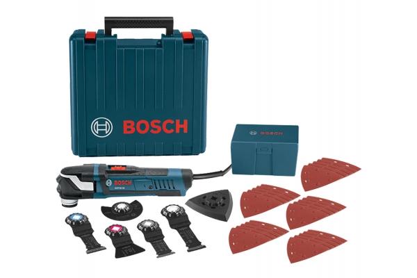 Large image of Bosch Tools 32-Piece Starlock Plus Oscillating Multi-Tool Kit - GOP40-30C