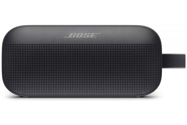 Large image of Bose Black SoundLink Flex Bluetooth Portable Speaker - 865983-0100
