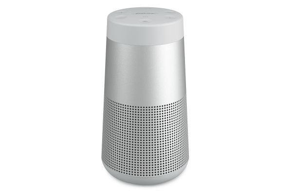Large image of Bose Luxe Silver SoundLink Revolve II Bluetooth Speaker - 858365-0300