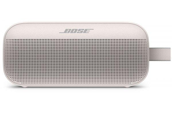 Large image of Bose White Smoke SoundLink Flex Bluetooth Portable Speaker - 865983-0500