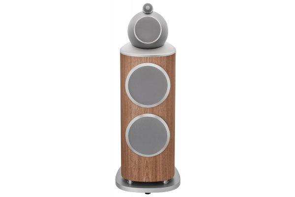 Large image of Bowers & Wilkins 800 Series Diamond 801 D4 Satin Walnut3-Way Floorstanding Speaker (Each) - FP42080