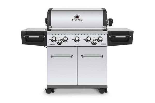 Large image of Broil King Regal S590 Pro Infrared Stainless Steel Natural Gas Grill - 958947