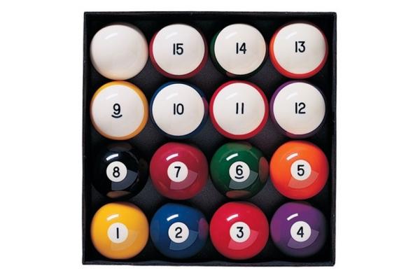 Large image of Brunswick Heritage Billiard Ball Set - 51869203000